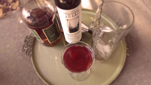 Manhattan Cocktail: TIMBER sweet vermouth | Whiskey
