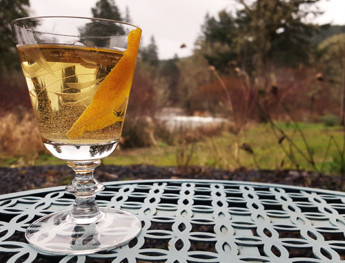 A Dream Rooted Cocktail: Reverie sweet vermouth | Gin | Benedictine